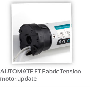 AUTOMATE FT Fabric Tension motor update