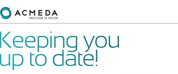 Acmeda. Keeping you up to date!