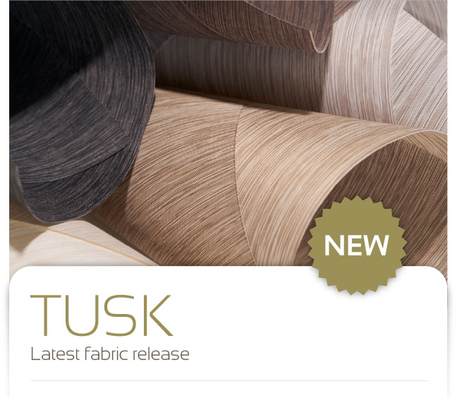 Tusk. Latest fabric release.