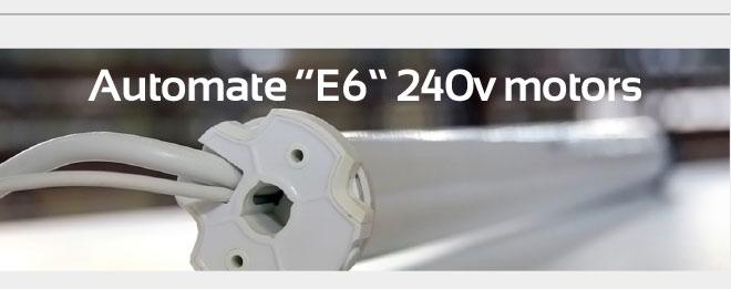 """Automate """"E6"""" 240v motors"""