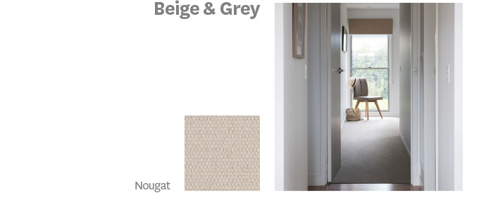 Beige & Grey
