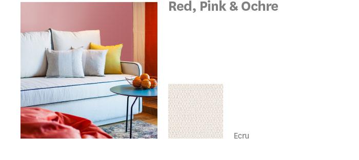Red, Pink & Ochre