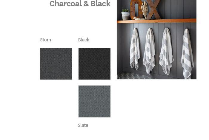 Charcoal & Black