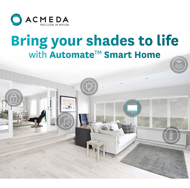 Bring your shades to life with Automate Smart Home