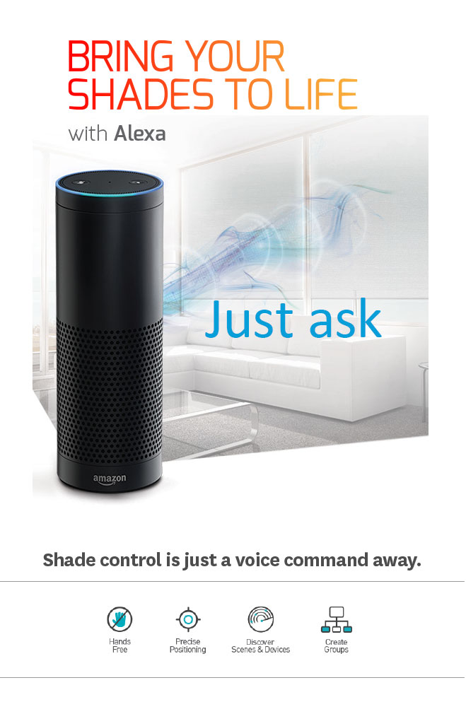 Bring your shades to life with Alexa