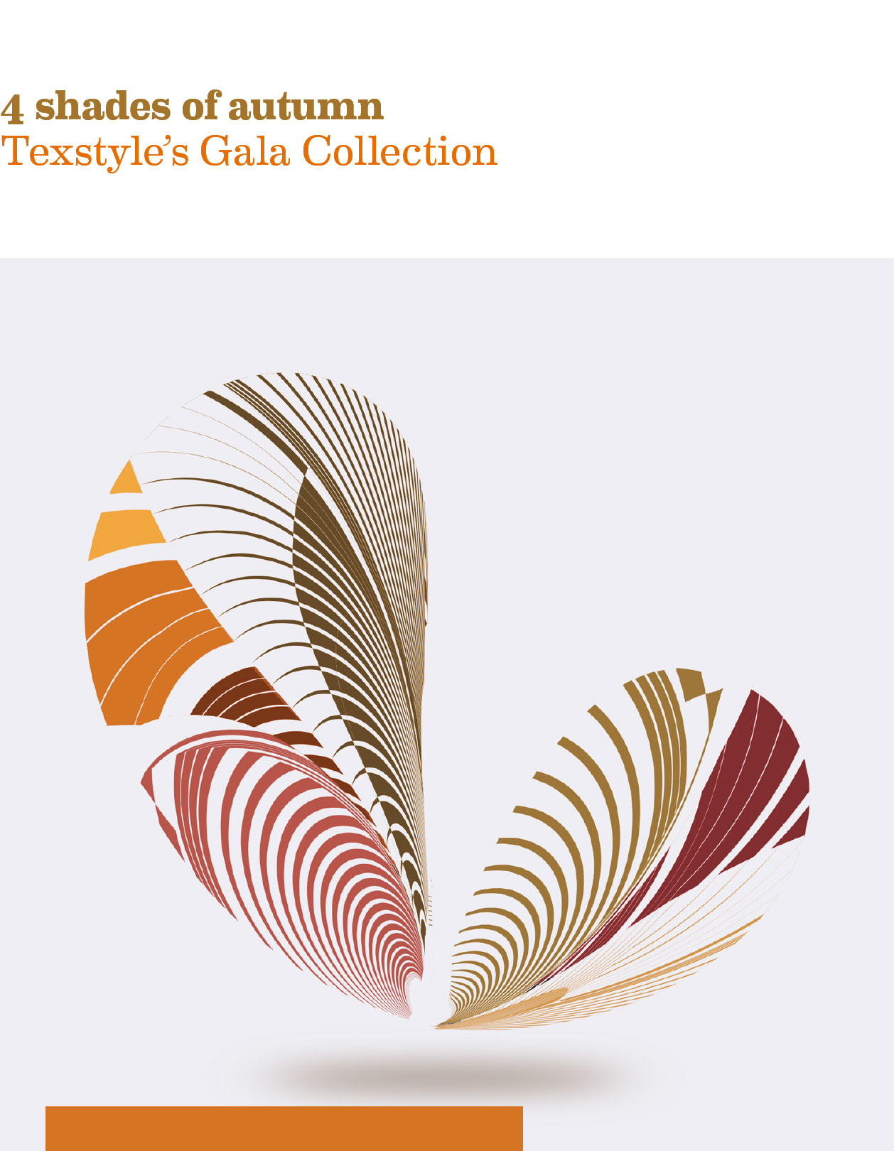 4 shades of autumn: Texstyle's Gala Collection