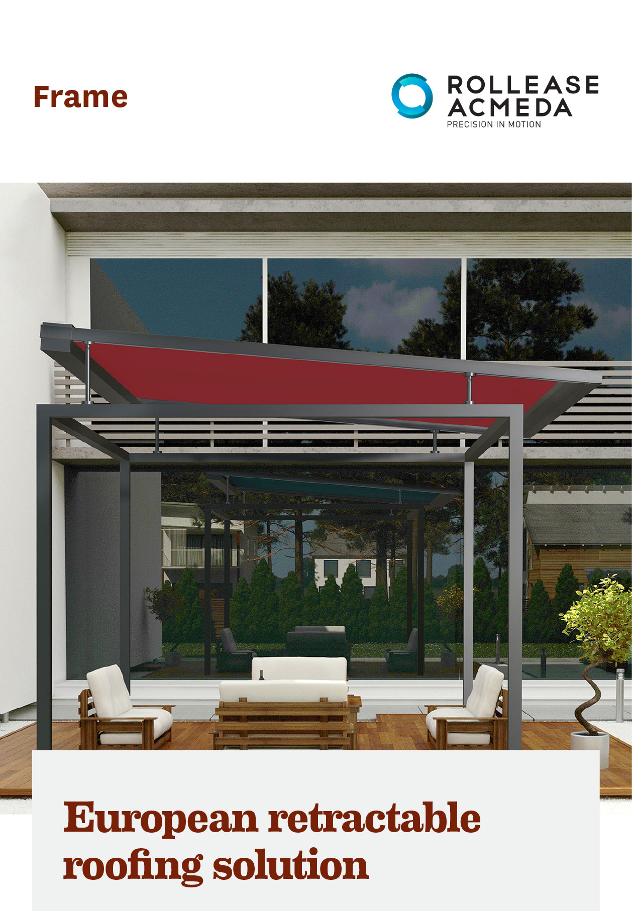 Eurpean retractable roofing solution