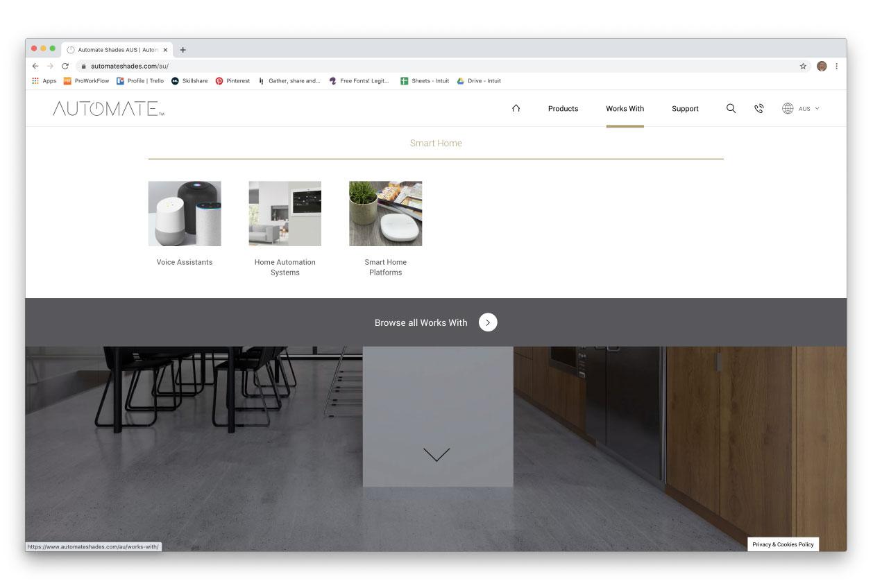 Automate website screenshot