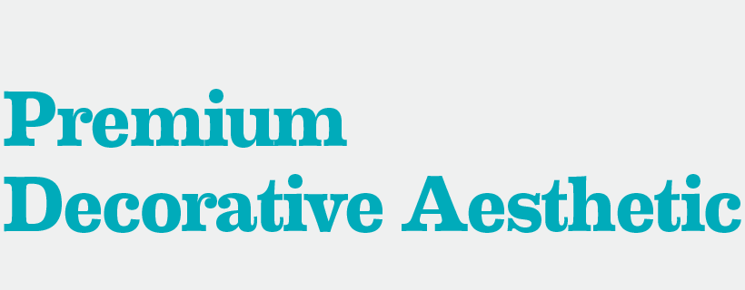 Premium Decorative Aesthetic