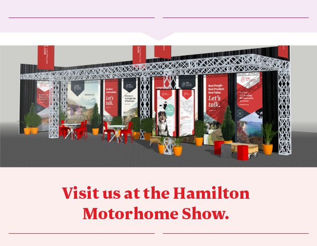 Visit us at the Hamilton Motorhome Show.